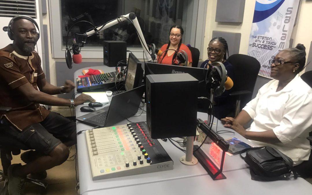 ARISE project on air at Salama Radio 98.1FM!